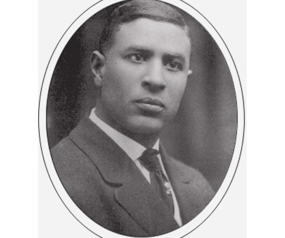 A black and white photo of Garrett Morgan.