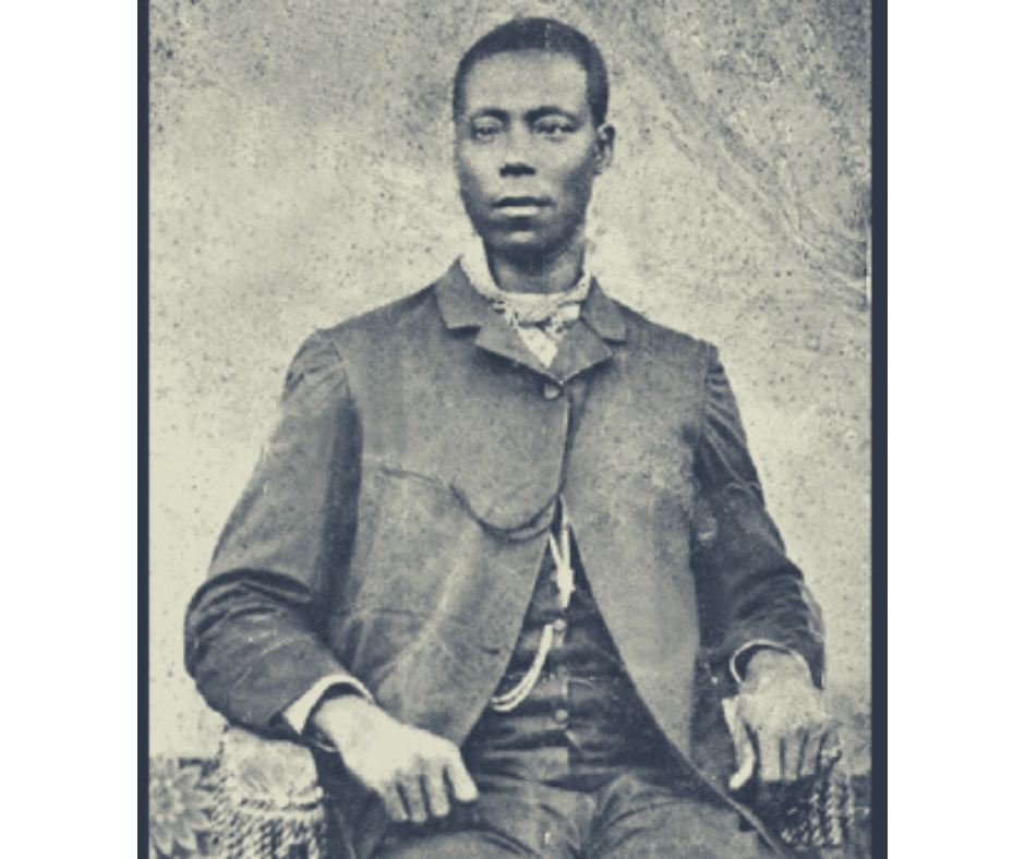 A black and white portrait photograph of Thomas L. Jennings.